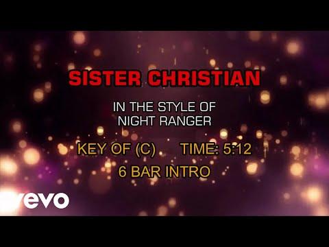 Night Ranger - Sister Christian (Karaoke)