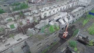 Руины Поронайского ЦБЗ