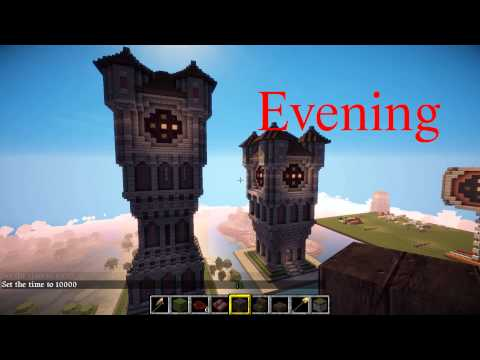 Guruth S Medieval Clock Towers Now Functional Minecraft