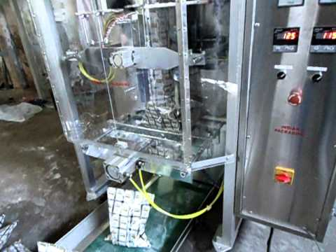 Auger FFS Powder Packing Machine