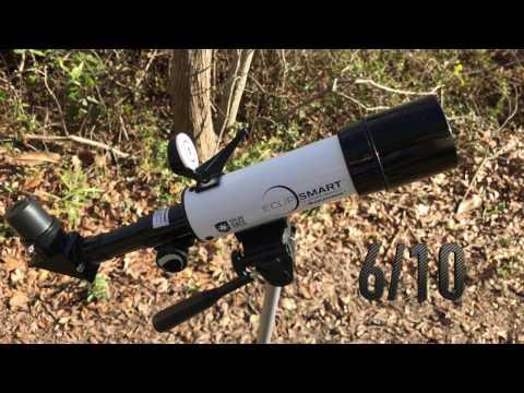 Celestron Eclipsmart 50 Solar Telescope Review