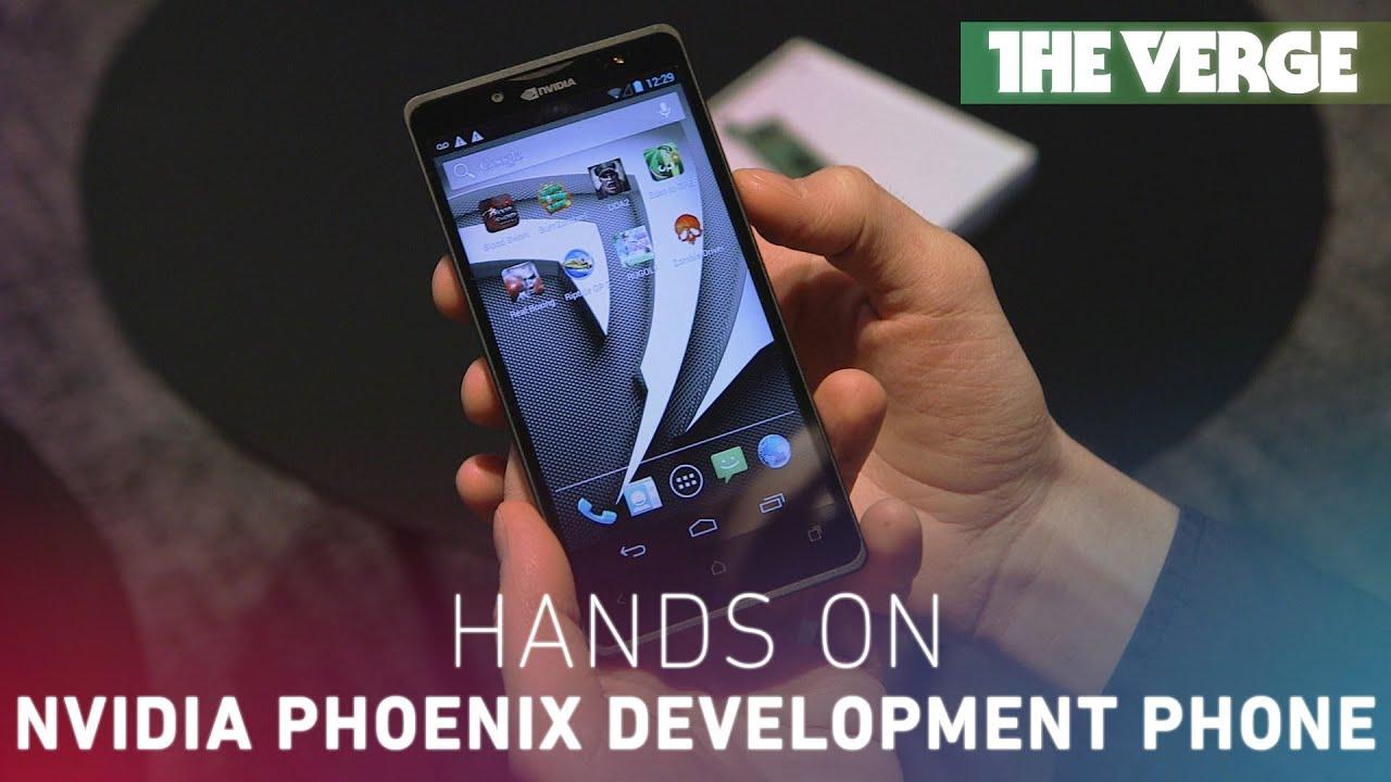 Nvidia Phoenix development phone hands-on thumbnail