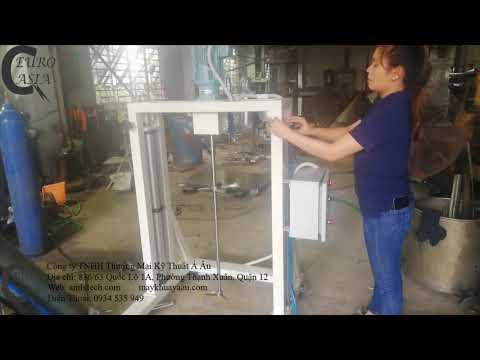 Máy khuấy nước rửa chén nâng hạ tự động lh 0934 535 949 Á Âu