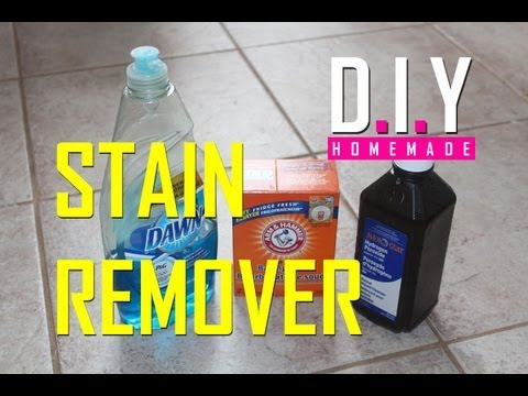 Best Homemade Stain Remover