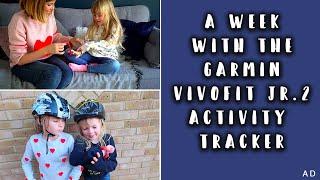 THE BEST ACTIVITY TRACKER FOR KIDS- GARMIN VIVOFIT JR.2 #AD