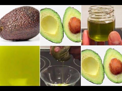 Prepare Cold Pressed Avocado Oil at Home