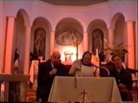 Maria Simma a Civitavecchia, 2000. Deutsch- italiano. Don Linus Dragu Popian