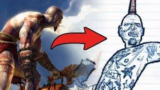god of waru yapan adamdan yeni oyun  drawn to death  ilk bakış