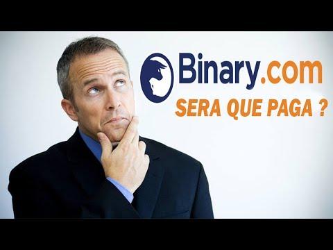 Binary Paga? | Binary.com Será Que Paga ?