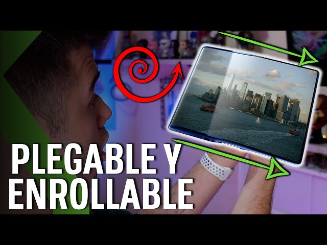 TCL FOLD N' ROLL - ¡3 TELÉFONOS EN UNO: Plegable, Flexible y ENROLLABLE!