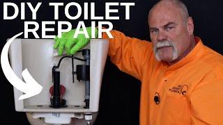 How to Fix A Running Toilet GUARANTEED   DIY Plumbing Repair