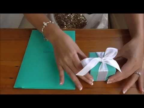Unboxing Reveal Tiffany & Co Diamond Engagement Ring