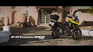 Nova Suzuki V Strom 250 ABS  2017 Video Oficial