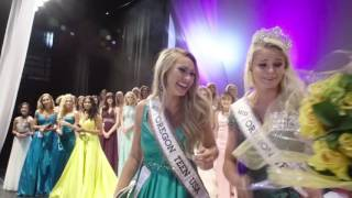 Vanessa Matheson Miss Oregon Teen USA 2017 Crowning