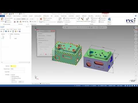 Mastercam 2017 | Automatisierte Verarbeitung beim Laden von CAD-Modellen