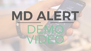 KG Media - MD Alert Demo Video