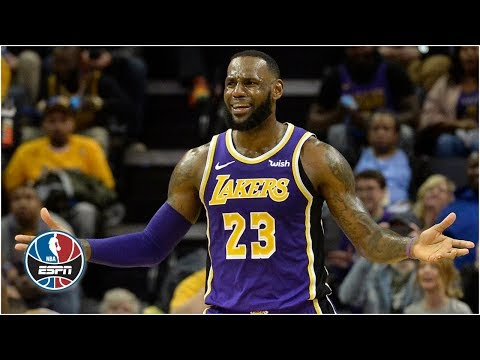 cf30584bc382 LeBron notches triple-double, Lakers fall to Grizzlies in Memphis | NBA  Highlights