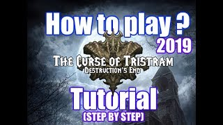 How to play The Curse of Tristram (Diablo2 Remastered on Sc2) tutorial 2019
