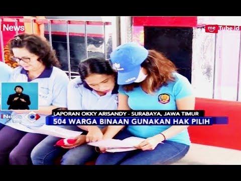 Vanessa Angel dan Ahmad Dhani Mencoblos di Rutan Medaeng, Jatim - iNews Siang 17/04