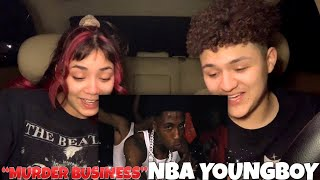 NBA YoungBoy - Murder Business REACTION❗️