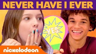Never Have I Ever... WITH A TWIST! 🙈 ft. Jayden Bartels & Armani Jackson | Nick