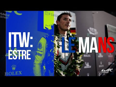 2019 24 Hours of Le Mans: Kevin Estre Interview at Le Pesage
