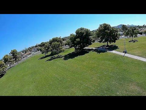 Geprc Rocket Plus DJI Goggle Recording - FPV Fav Park Tree Gaps 100+ Degrees