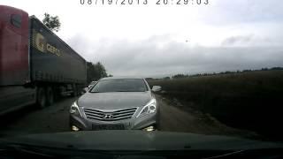 Омск  Дебилы на дорогах! Будьте осторожны!