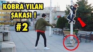 YILAN İLE KORKUTMA ŞAKASI YAPARAK TROLLEDİM 2 !