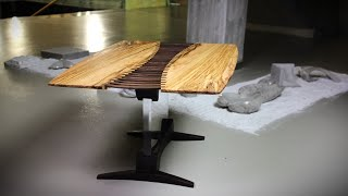 Watch Me Transform 400 years old Olive Wood Into This Beautiful Coffee Table
