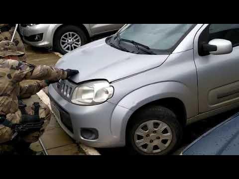 Jiboia é encontrada em motor de carro