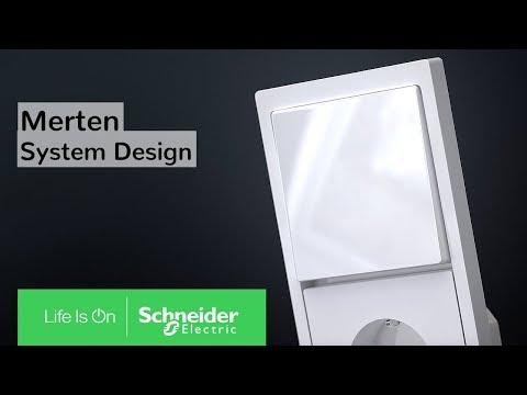 Merten Schalterprogramm: System Design - Rahmen, die Raum geben | Schneider Electric