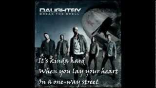 Daughtry - Outta My Head (Lyrics)