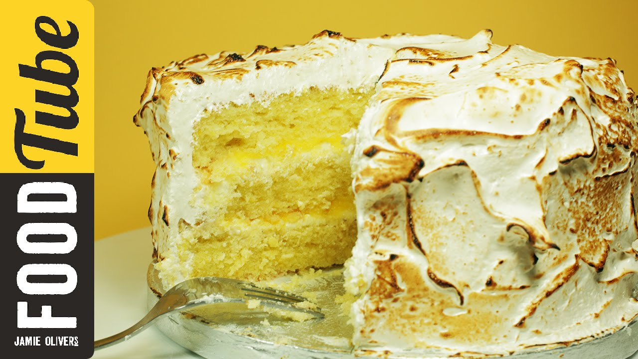 Amalfi lemon layer cake Baking recipes Ed Loftus for Jamie magazine