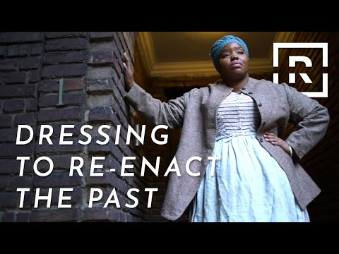 Historical Reenactor Cheyney McKnight Gets It Right | Dress the Part | Racked