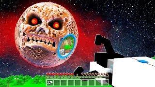 FAKİR KORKUNÇ AY'A PORTAL AÇTI! 😱 - Minecraft