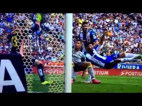 ESPANYOL VS REAL MADRID 0-3 12/09/2015 GOAL RONALDO