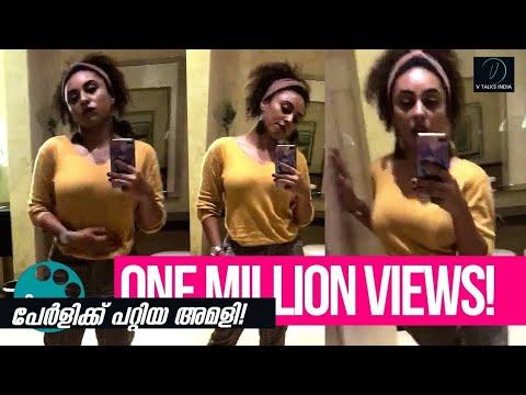 Samvritha Sunil Navel show - Youtube Download