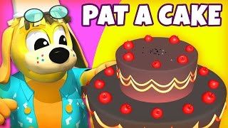 Nursery Rhymes and Kids Songs | Pat A Cake | Raggs TV