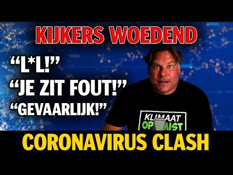Kijkers woedend Coronavirus clash-Jensen