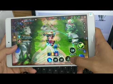 Máy Tính Bảng Huawei Dtab D01J chơi liên quân MAX 60FPS