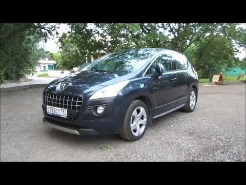 2012 Peugeot 3008. Start Up, Engine, and In Depth Tour.