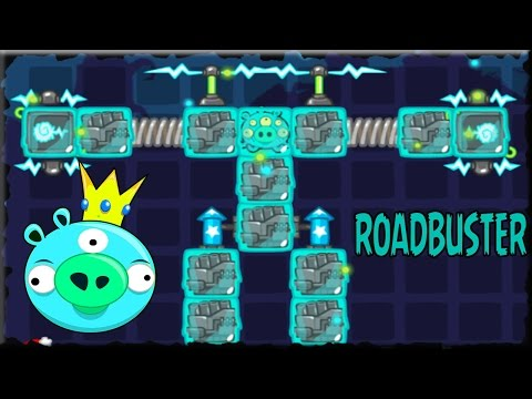 Bad Piggies 2018 Silly Inventions ROADBUSTER #21