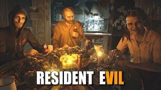 RESIDENT EVIL 7   Baker Family Dinner Scene + Jack Baker Garage Boss Fight