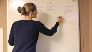 Calculating Distance (in degrees) with Latitude