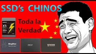 SSD Chinos - Toda la verdad / Mejor SSD CHINO 2018