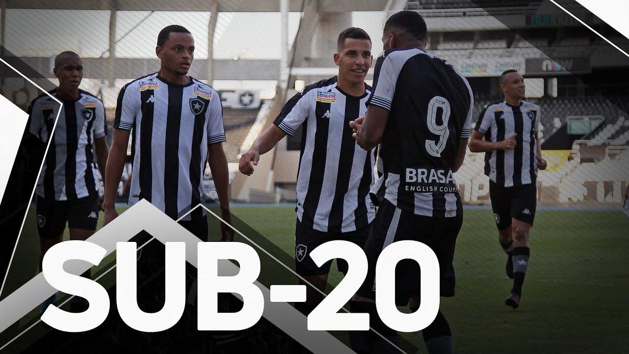 VÍDEO: Gols, lances e entrevistas de Botafogo 2×0 São José-RS pela Copa do Brasil Sub-20