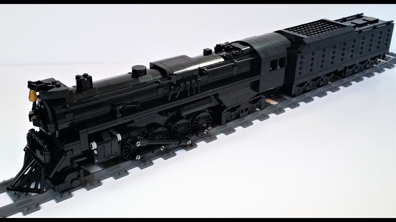 Lego MOC | Nickel plate road S2 'Polar Express' (Patreon)
