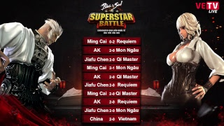Giao hữu Việt Trung | SUPERSTAR BATTLE | DAY 02 - 19/01/2018