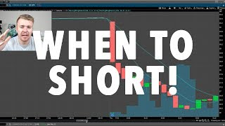 WHEN TO SHORT SELL A STOCK!